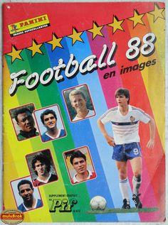 Album ... Football Panini 1988
