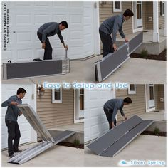 Portable Scooter Ramp From Discount Ramps Is Perfect For Wheelchair Or  Power Chair Access Over Stairs