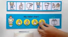 Visual aids for children with autism including schedules, planners, games, ABA therapy materials and Speech therapy materials. Training Kit, Toilet Training, Potty Training, Work Activities, Educational Activities, Social Stories Autism, Toddler Routine, Life Skills Class, Occupational Therapy Assistant
