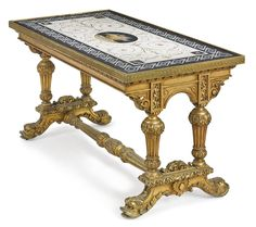 Attributed to Giacomo Raffaelli<br>Italian, 1753-1836<br>An important and rare Roman micromosaic table top<br>Italy, circa 1805-25   lot   Sotheby's