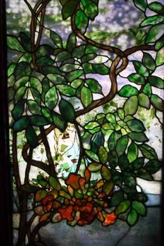 Tiffany Stained Glass | ... tiffany murals and stained glass windows of exceptional delicacy and