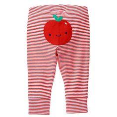 Baby True Red Stripe Apple Pants by Gymboree