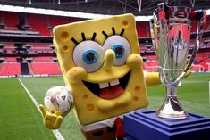 NickALive!: Borussia Dortmund Tease SpongeBob Collaboration