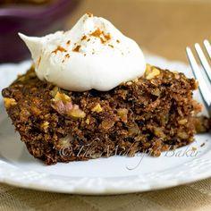 Apple Pie Cake Recipe - The Midnight Baker & ZipList Healthy Apple Desserts, Apple Recipes, Just Desserts, Baking Recipes, Cake Recipes, Dessert Recipes, Yummy Recipes, Cake Frosting Tips, Apple Pie Cake