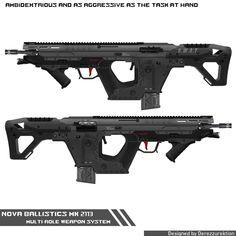 ArtStation - Nova Ballistics Mk 2113, Wesley Johnson