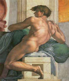 Ceiling of the Sistine Chapel, 1508-1512  Michelangelo Buonarroti