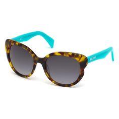 Occhiali da sole Just Cavalli – Montatura: acetato – Protezione: UV3 – Lunghezza aste: 135 mm – Diametro lenti: 57 mm – Larghezza ponte: 19 mm – Custodia originale -Occhiale da Sole Pantografato