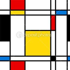 Бесшовные абстрактных геометрических красочные вектор шаблон. — стоковая иллюстрация #3829070