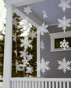 How To Make Snowflake Streamers