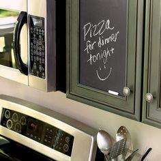 Love it  http://common2.csnimages.com/lf/49/hash/9859/3486843/1/Wallies-Slate-Gray-Chalkboard---2-Sheet-Vinyl-Peel-and-Stick.jpg