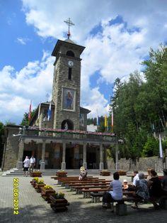 Beskid Śląski - Szczyrk Biła : Sanktuarium Matki Boskiej - Kościół Katolicki / Silesia Beskid - Szczyrk Bila: Sanctuary of the Virgin Mary - Catholic Church , Poland