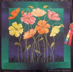 Quilt Inspiration: Cutting down the tall poppies