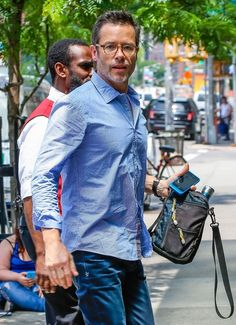 Guy Pearce Photos: Guy Pearce Returns to His Hotel