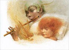 Robert Ingpen, Peter Pan and Wendy