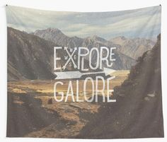 embrace your adventurous side with this vintage style typographic graphic – all photographs are taken from my own personal adventures – this particular image was taken while hiking to Mueller Hut in Mt Cook, New Zealand • Also buy this artwork on wall prints, apparel, kids clothes, and more.
