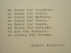 ALBERT EINSTEIN Hand Typed Quote Made with by PoetryBoutique, $8.00