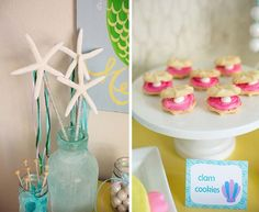 mermaid party supplies | ... in this Mermaid Themed Party available in Kara's Party Ideas Shop