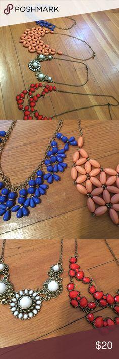 Necklace bundle Good condition Francesca's Collections Jewelry Necklaces