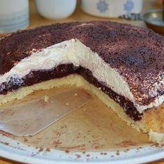 Italienischer Zitronenkuchen - Rezepte des Tages Tiramisu, Breakfast, Ethnic Recipes, Food, Vanilla, Sheet Cakes, Cacao Powder, Yogurt, Bakery Recipes