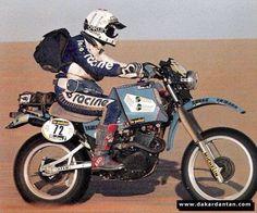 JEAN noel pineau  Yamaha xt 570 Dakar 1983