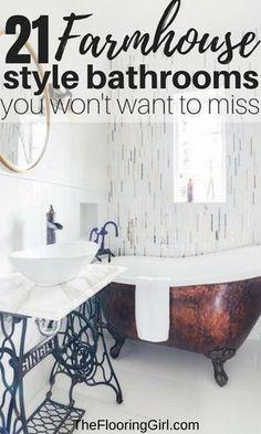 296 best bathroom makovers images in 2019 bathtub home decor rh pinterest com Beachy Bathrooms DIY Home Decor Bathroom