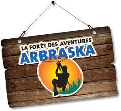 Arbraska - La forêt des aventures