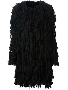 Shop Lanvin fringed coat in D'Aniello from the world's best independent boutiques at farfetch.com. Over 1000 designers from 60 boutiques in one website.