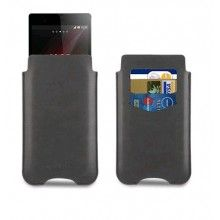 Forro Xperia Z1 Made For Xperia - Estuche Card Nero Negra  $ 45.507,15