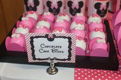 Minnie Mouse Birthday Party   | CatchMyParty.com