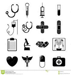 simbolos medicina saude - Pesquisa Google Medical Icon, Diy And Crafts, Doodles, Coding, Ink, Templates, Easy, Design, Nursing
