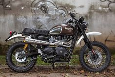 Triumph Scrambler by Mr Martini