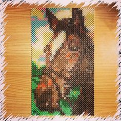 Perler bead horse by joshuas_creations