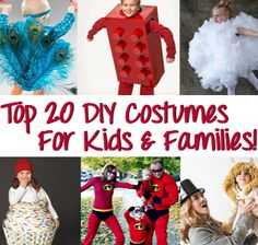 20 DIY Costumes For Babies, Kids, And The Whole Family!