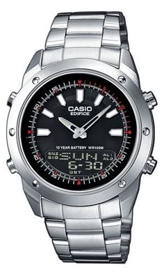 Casio Edifice Wristwatch for Him Battery lifetime of 10 years c3ff0420131