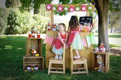 "Strawberry / Summer ""Strawberry Lemonade Stand"""