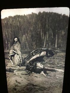 "Edward Curtis ""Whaling Ceremonial"" Nootka Native American photography 35mm slide  | eBay"