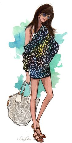 Fashion Illustration by Inslee Haynes