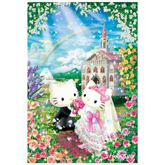 Jigsaw Puzzle (1000 world's smallest micro piece) Hello Kitty Sweet Wedding Sanrio online shop - official mail order site