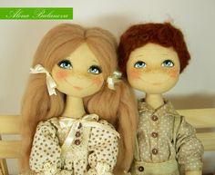Хочу показать моих хороших деток, они тоже поедут на выставку Модна лялька. Я их так люблю, такие чистые и добрые детки получились слов не...