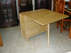 Useful folding ikea table - I want to convert my existing dining room table to this