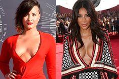 Demi Lovato diz que Kim Kardashian ajuda as mulheres - http://metropolitanafm.uol.com.br/novidades/famosos/demi-kim-ajuda-mulheres