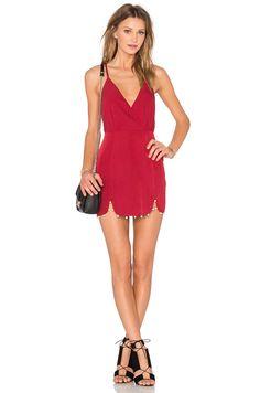 NBD It's My Party Dress em Vermelho   REVOLVE