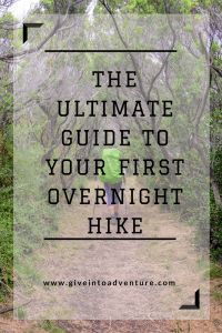 Upgrading from a day hike to an overnight hike seems like a big step. What do you take? Will you be able to carry it all? What do you eat? Where do you go? I've been there and felt that, so here's a one-stop guide to help ease the worry and get you on your merry way.