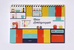 Rezeptbuch von heavenandpaperDesign via dawanda.com
