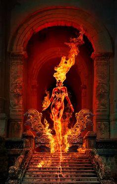Fire Godess by TudorPopa