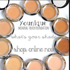 Ace your base with Younique mineral touch foundation Shop online now at https://www.youniqueproducts.com/Cangel
