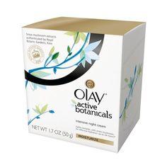 Rank & Style - Olay Active Botanicals Intensive Night Cream Moisturizer. Locks in moisture for 24 hours. #rankandstyle