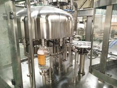 Water bottling line, for 5L PET bottle, 2000 to 2400bph, rotary rinsing/filling/capping monobloc, 12 heads rinsing, 12 heads filling and 4 heads capping.
