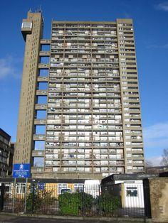 Trellick Tower, en Londres años 60-70