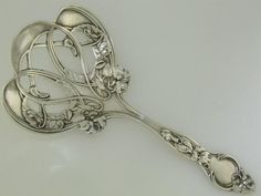 Gorgeous Silver Serving Spoon